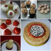 Вкусная домашняя выпечка тортов и пирожных